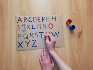 Alfabet- zabawa edukacyjna