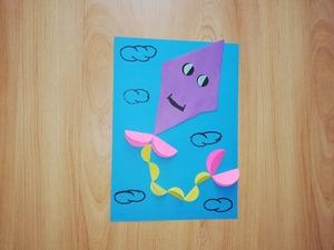 Latawiec – praca plastyczna z wykorzystaniem origami