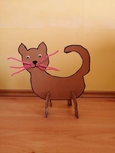 """Kot"" – praca plastyczno – techniczna"