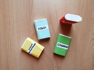 Zapachowe zagadki – zabawa sensoryczna