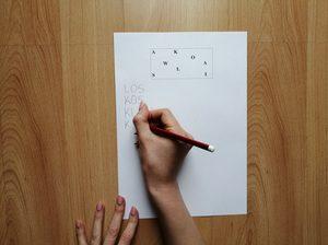 Rozsypanka literowa – zabawa edukacyjna