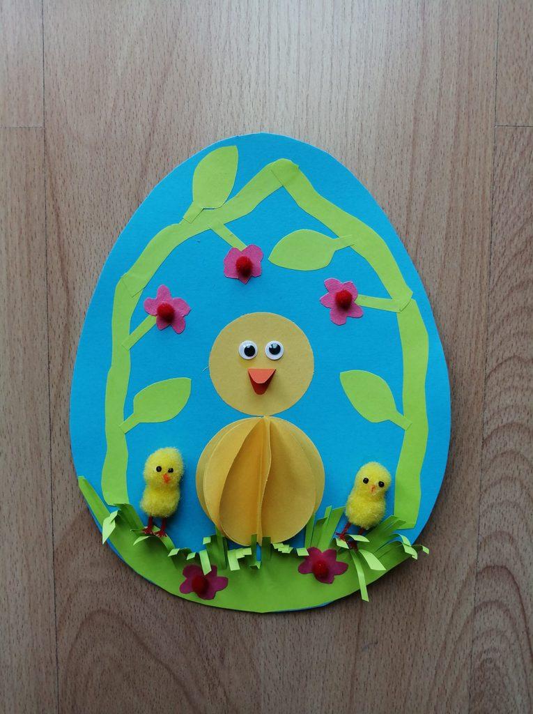 Wielkanocna pisanka – praca plastyczna