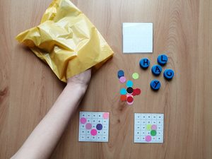 Literowe bingo – zabawa edukacyjna